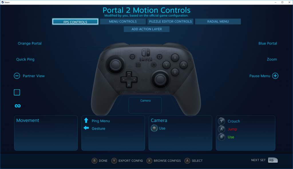 Nintendo Switch Pro Controller Getting Official Support on Steam Client