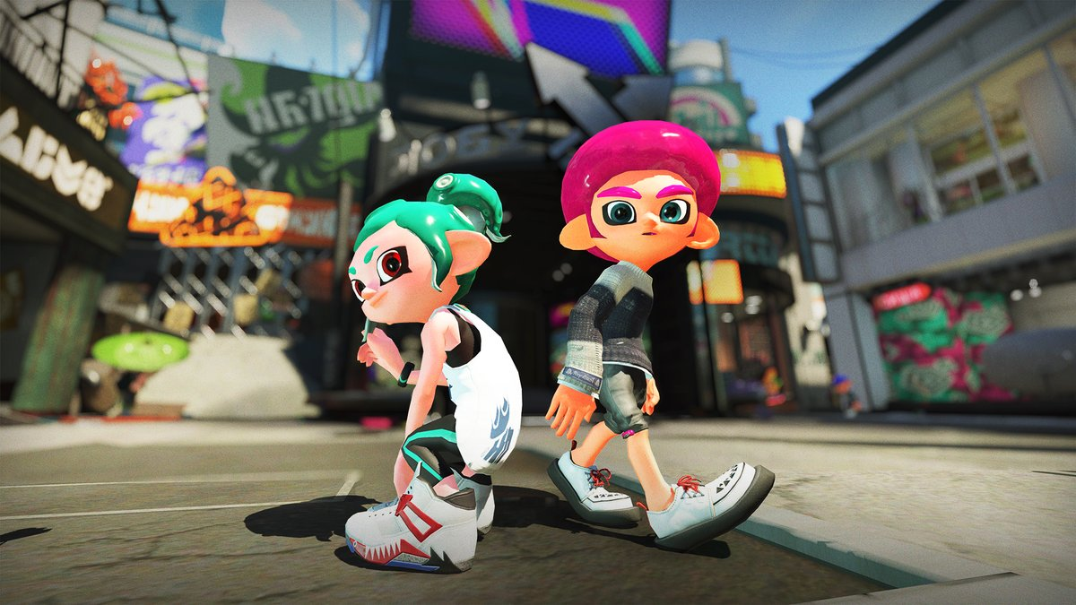 A Pair Of New Octoling Hairstyles Make Their Splatoon 2
