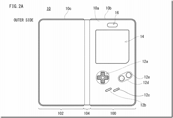 Nintendo Files Patent for a Game Boy Style Smartphone Case