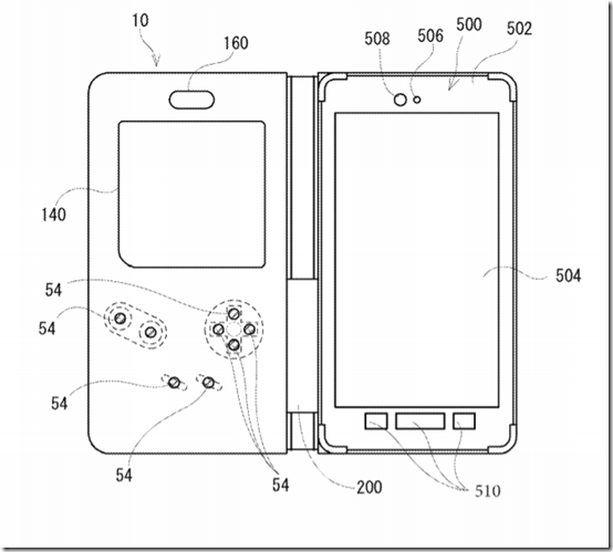 Nintendo patents a case that transforms your phone into a Game Boy