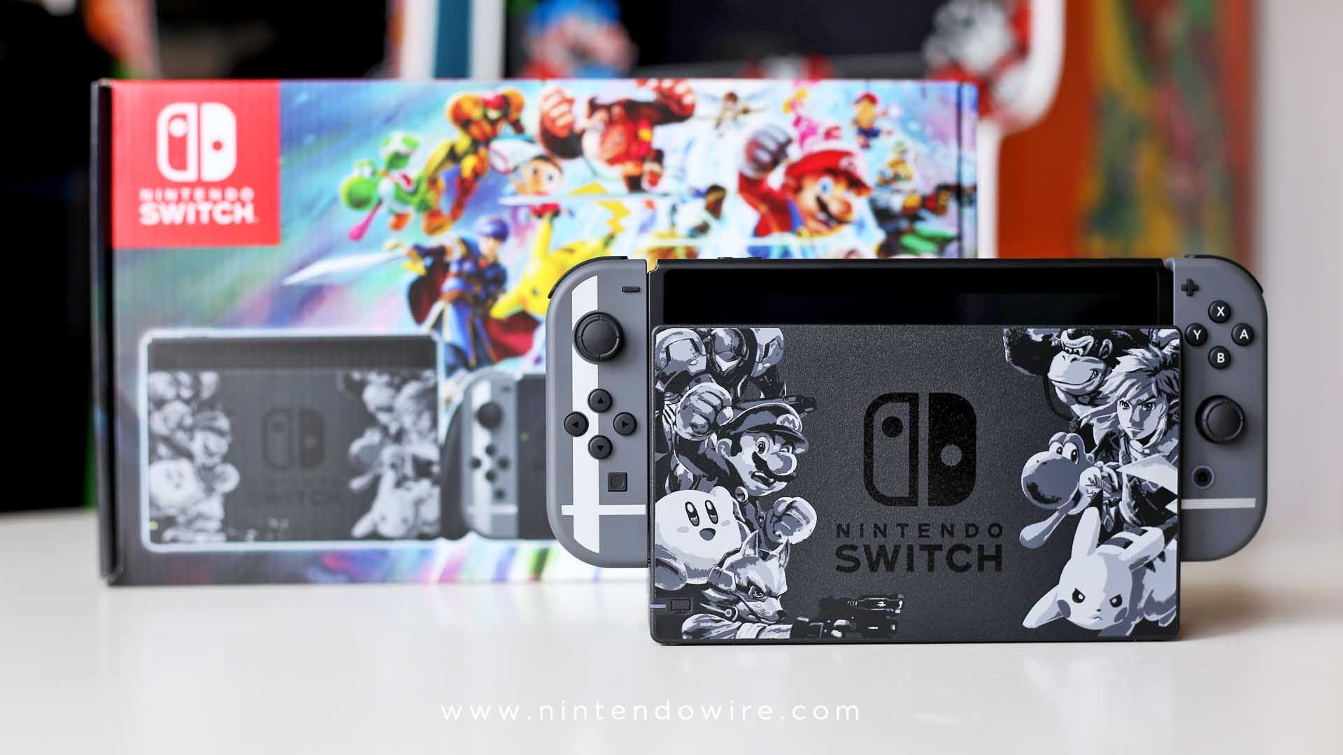 Nice Nintendo Wire Photos Direct Wallpapers Wallpaper 64 Av Cable Wiring Diagram Unboxing Super Smash Bros Ultimate Switch Bundle