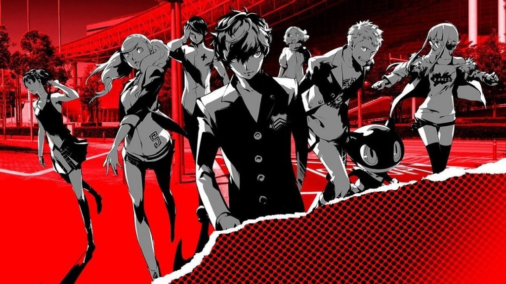 Persona 5 S Official Website Launches with Cryptic Teaser
