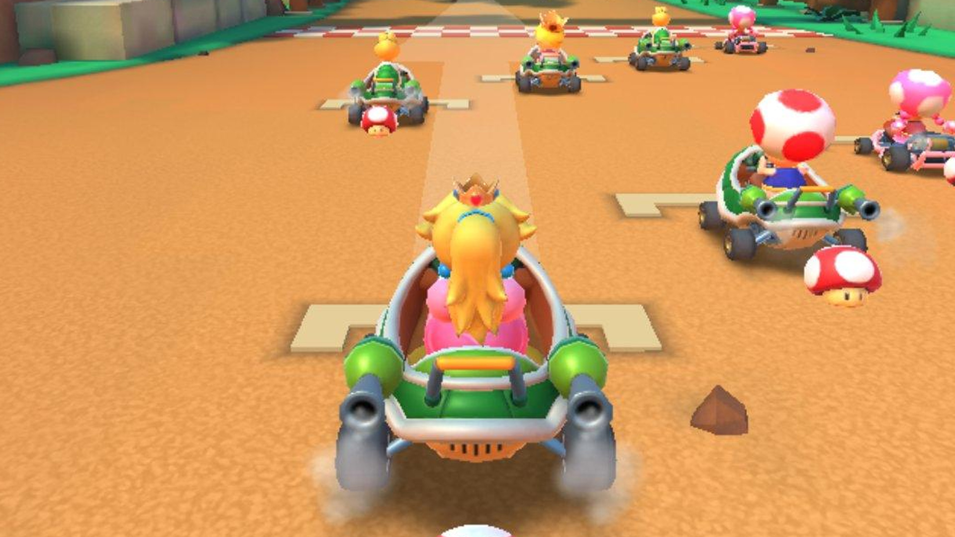 First Mario Kart Tour details appear out of its closed ...