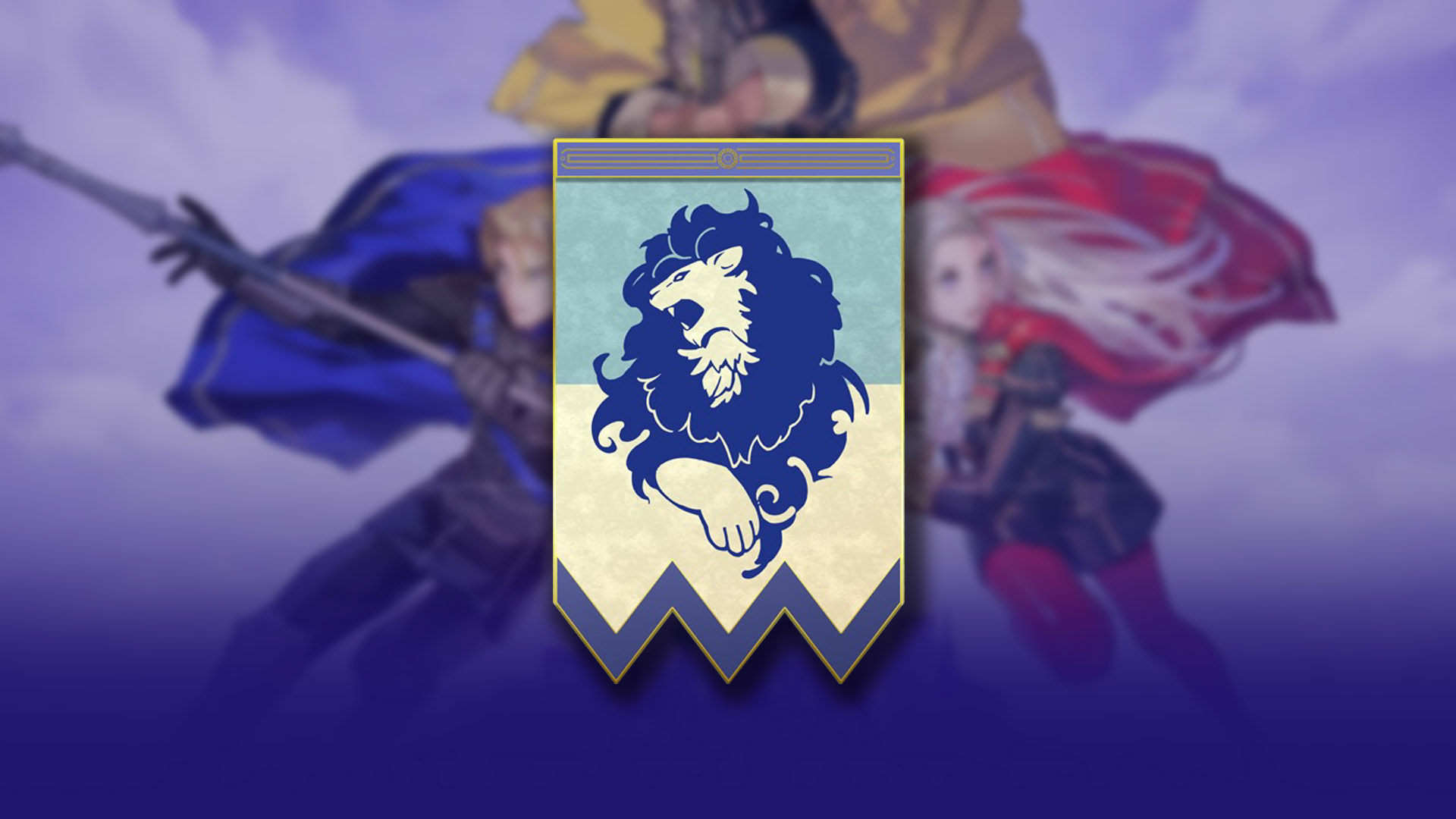 With Chivalry And Strength I Join Fire Emblem Three Houses Blue
