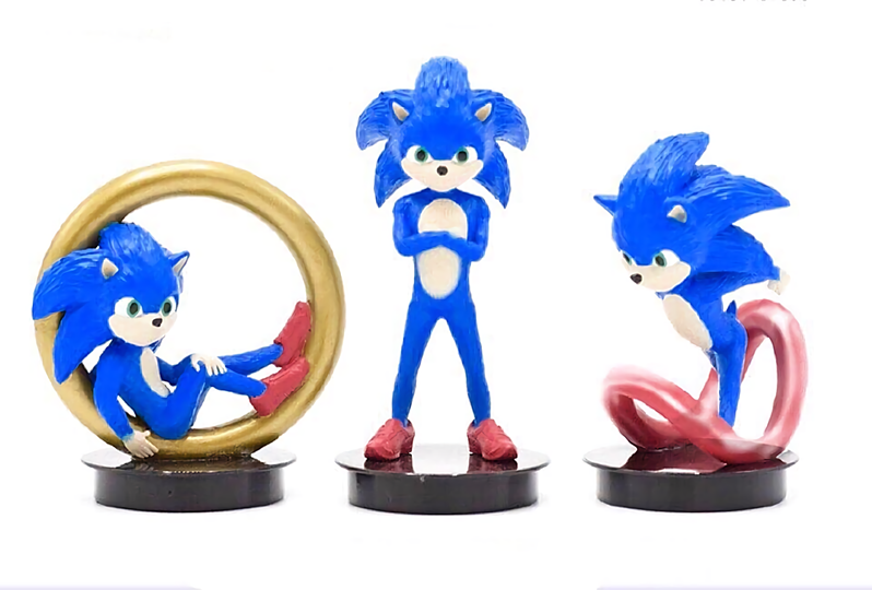 Prototype Sonic Movie Merchandise Shows What Could Have Been Nintendo Wire