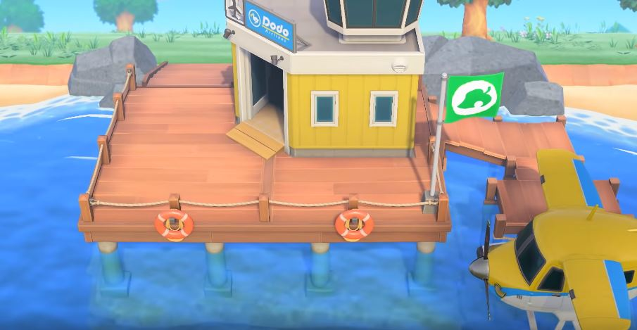 Dodo Airlines in Animal Crossing: New Horizons