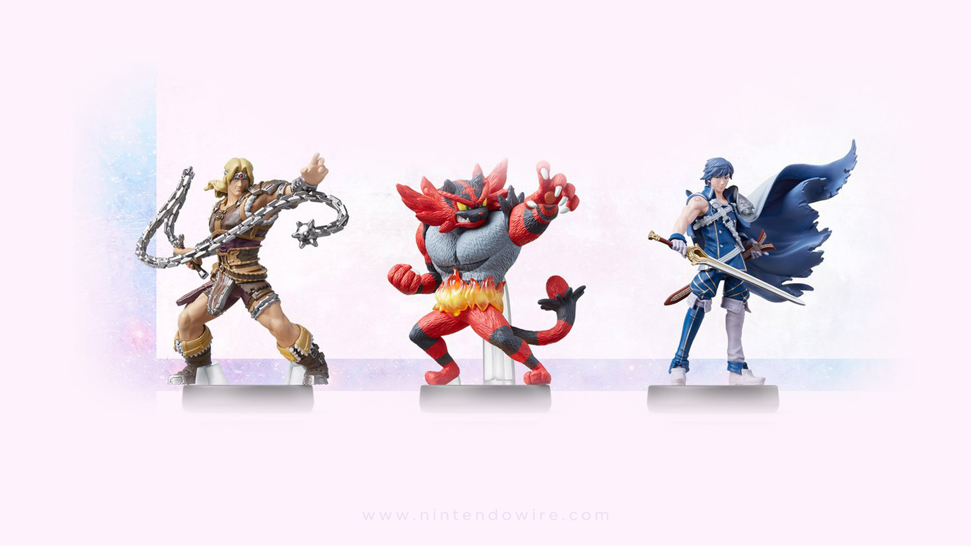 Simon Belmont  Chrom  And Incineroar Amiibo Coming