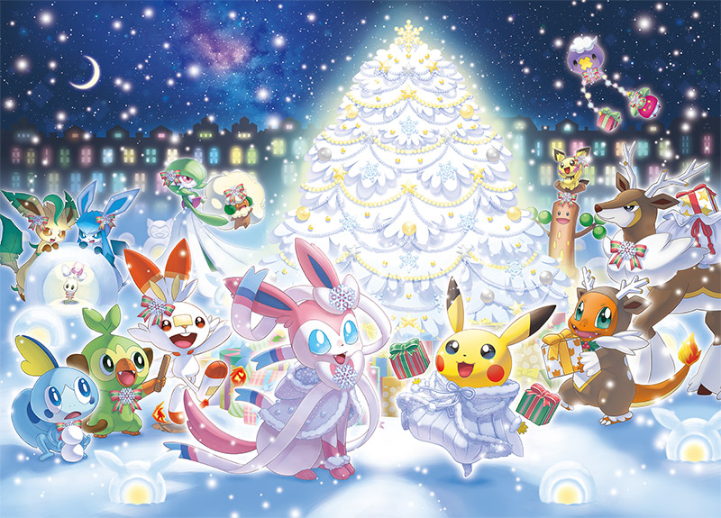 A White Christmas.Gorgeous White Christmas Collection Coming To Japan Pokemon