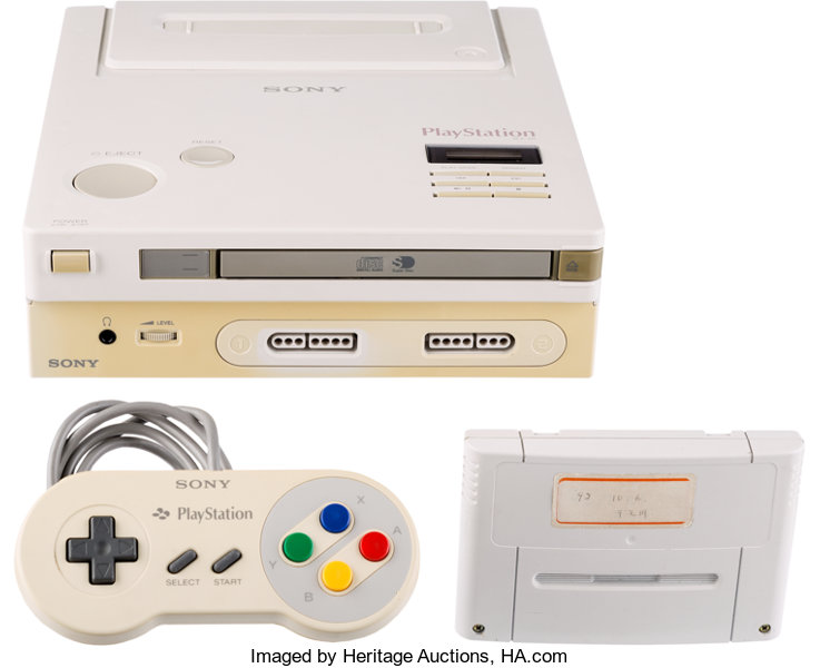 The Nintendo Play Station prototype is going up for auction