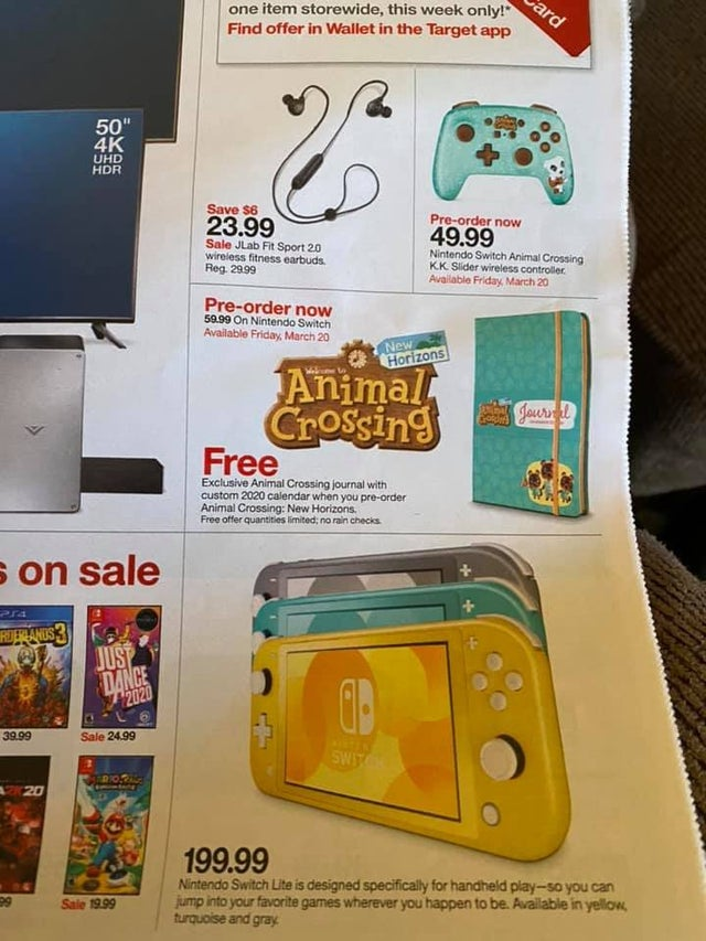 Target S Offering A Pre Order Bonus For Animal Crossing New