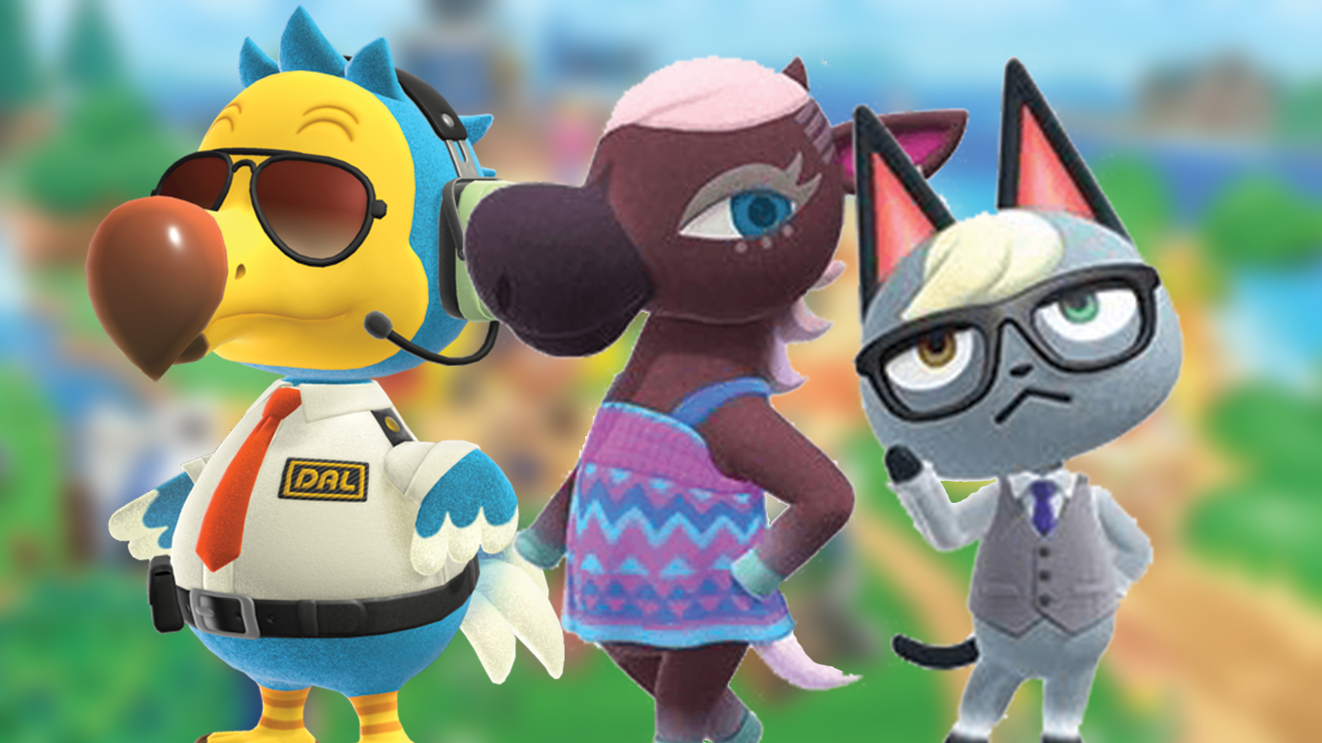 animal crossing characters new horizons list