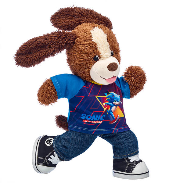 A Sonic The Hedgehog Plush Races Into Build A Bear Nintendo Wire