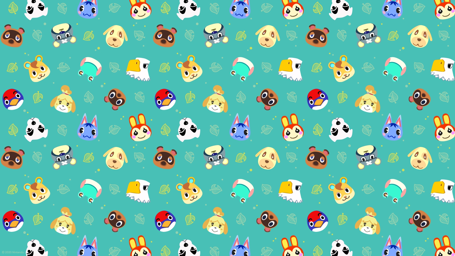 Walmart S Offering Up Some Free Animal Crossing New Horizons Desktop Wallpapers Nintendo Wire