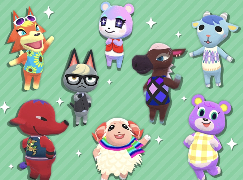 Eight New Characters From Animal Crossing New Horizons Arrive In