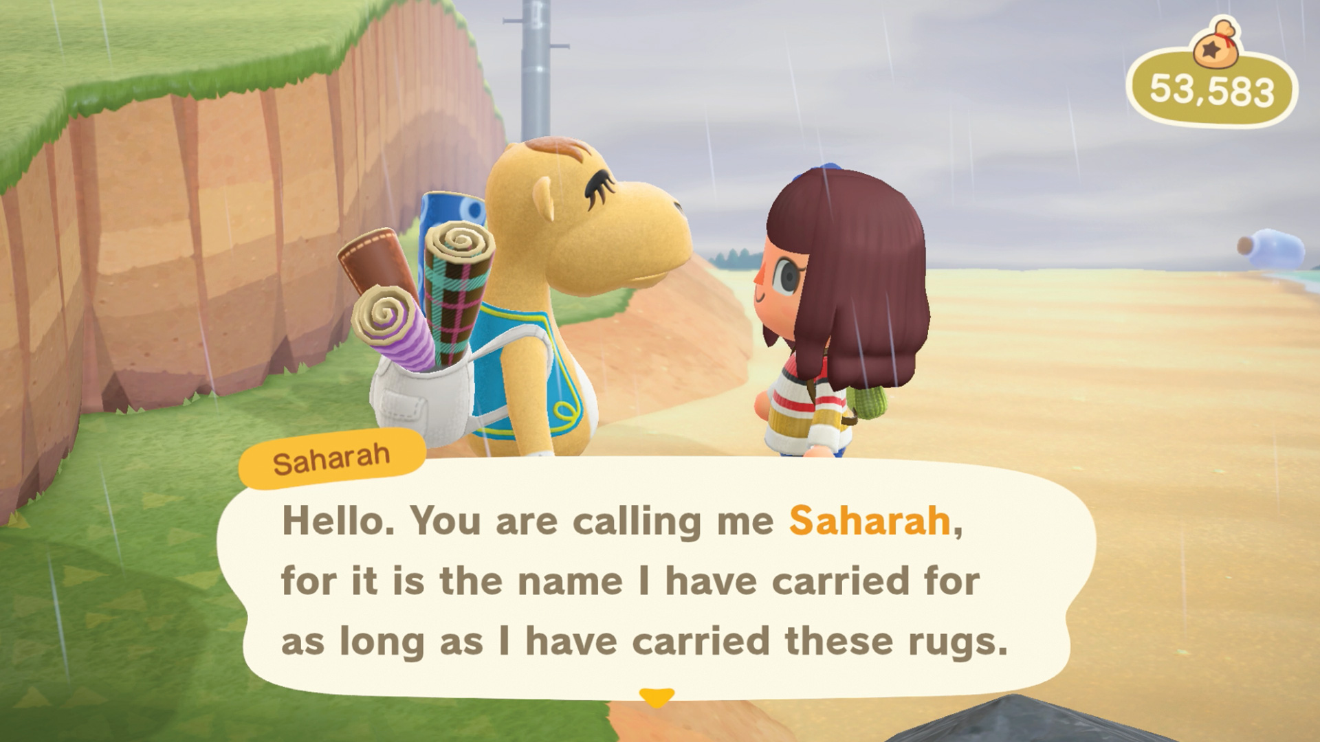 Animal Crossing New Horizons Saharah Guide Wallpaper Floors Rugs