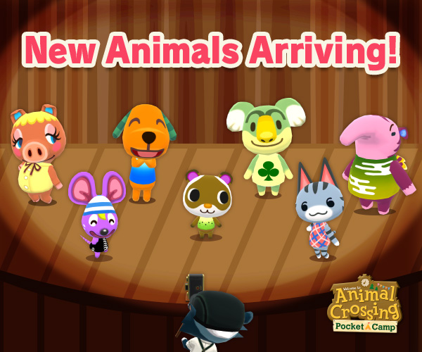 New Campers Added To Animal Crossing Pocket Camp Nintendo Wire