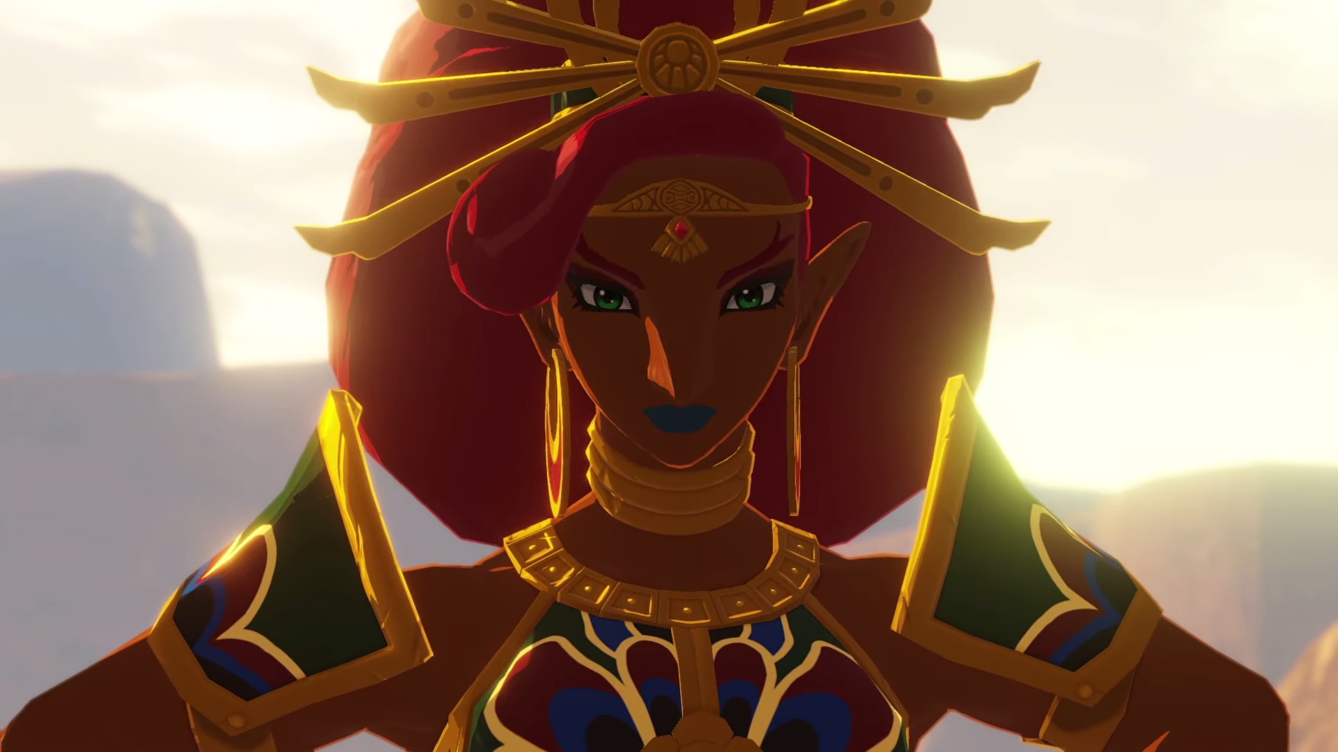 New Art And Screenshots Of The Four Champions Arrive For Hyrule Warriors Age Of Calamity Nintendo Wire