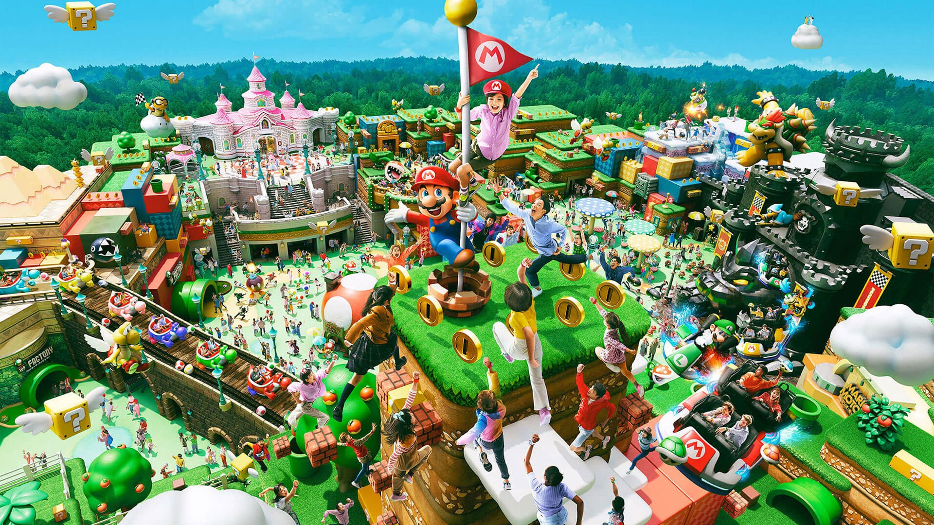 Japan's Super Nintendo World opening postponed for 2nd time because of COVID